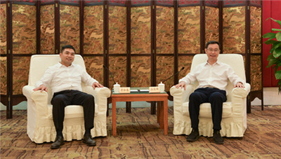 广州市委副书记、市长温国辉会见苏如春一行