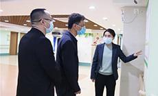 貴州省民政廳副廳長王斌調研華邦美好家園養老集團