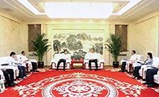 陇南市委书记张柯兵、代市长刘永革会见苏如春一行