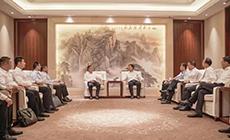 淮北市委书记张永、市长覃卫国会见苏如春一行